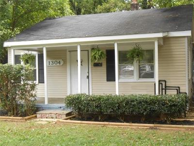 Charlotte Single Family Home Under Contract-Show: 1304 Condon Street