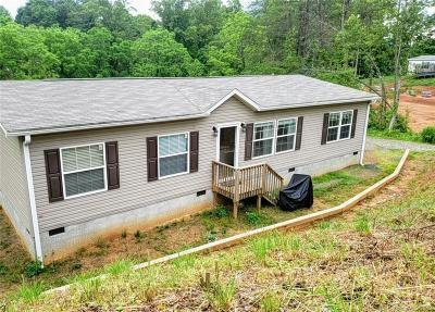 Alexander NC Single Family Home Under Contract-Show: $170,000