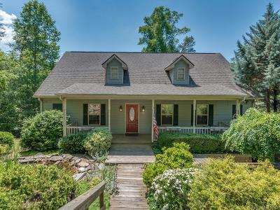 Lake Lure NC Single Family Home Under Contract-Show: $269,900