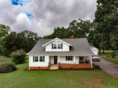 Lincolnton Single Family Home Under Contract-Show: 5245 Hickory Lincolnton Highway