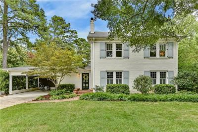 Charlotte Single Family Home For Sale: 3717 Selwyn Avenue