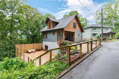 Asheville Single Family Home For Sale: 114 Hibriten Drive