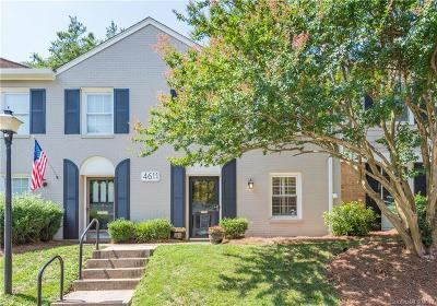 Charlotte NC Condo/Townhouse For Sale: $235,000
