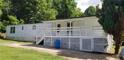 Waynesville Single Family Home For Sale: 89 Hillside Road