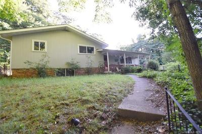 Asheville NC Single Family Home For Sale: $345,000