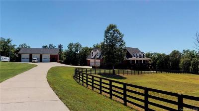 Marshville Single Family Home For Sale: 7915 Pleasant Hill Church Road