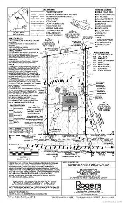 Residential Lots & Land For Sale: 5625 Timber Lane