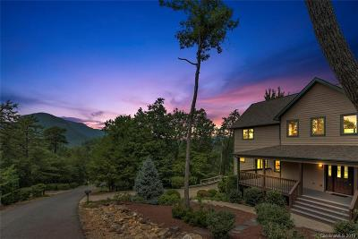 Lake Lure Single Family Home For Sale: 143 Eagles Crest Way