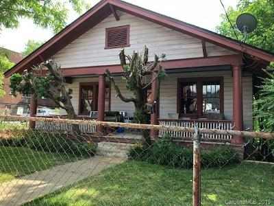 Buncombe County Single Family Home For Sale: 64 Flint Street