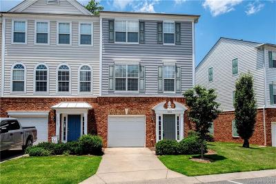 Charlotte Condo/Townhouse For Sale: 3006 Castleberry Court
