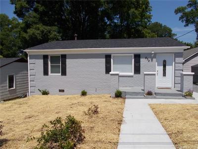 Charlotte NC Single Family Home For Sale: $195,000