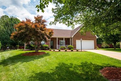 Matthews Single Family Home Under Contract-Show: 1601 Mountain Ashe Court