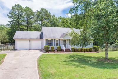 Marshville Single Family Home For Sale: 514 Hallman Drive
