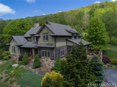 Banner Elk NC Single Family Home For Sale: $1,088,000