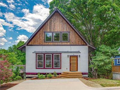 Asheville Single Family Home For Sale: 51 Hubbard Avenue