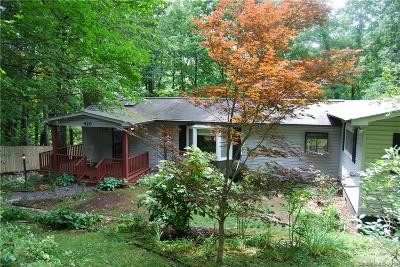 Black Mountain Single Family Home For Sale: 420 Beverly Road
