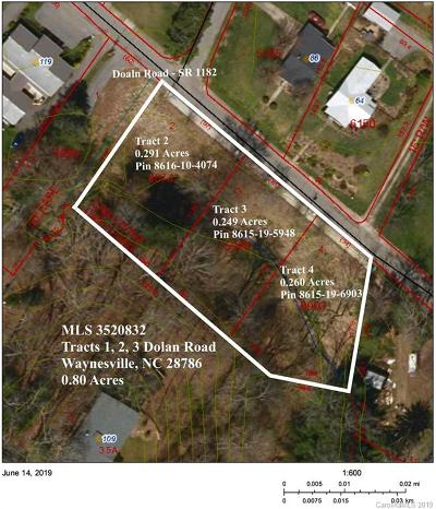 Haywood County Residential Lots & Land For Sale: Tracts 1,  2,  3 Dolan Road