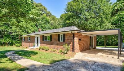 Catawba County Single Family Home For Sale: 402 11th Avenue SE