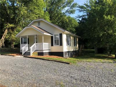Mount Pleasant Single Family Home For Sale: 9850 Nc Hwy 73 Highway