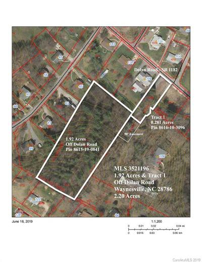 Haywood County Residential Lots & Land For Sale: 1.92 Acres & Tract 1 Dolan Road