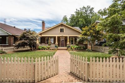 Charlotte Single Family Home For Sale: 529 S Summit Avenue
