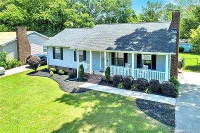 Rock Hill SC Single Family Home For Sale: $185,000