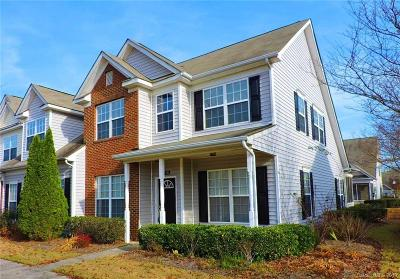 Charlotte Condo/Townhouse For Sale: 4776 Grier Farm Lane #4776