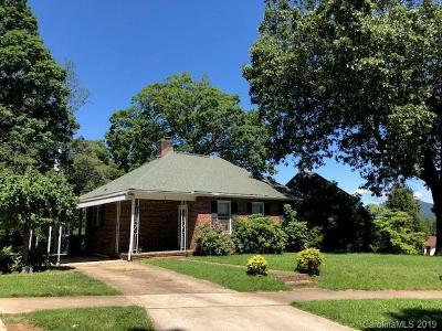 Candler Single Family Home For Sale: 1 Enka Oak Street
