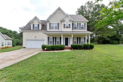 Troutman Single Family Home For Sale: 135 Painted Bunting Drive