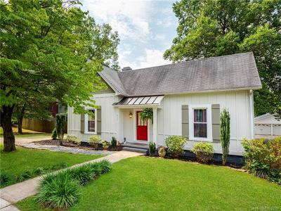 Mooresville Single Family Home Under Contract-Show: 321 E Center Avenue