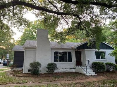 Charlotte Single Family Home For Sale: 2401 Shamrock Drive