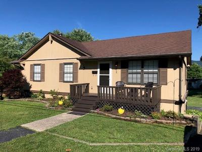 Brevard Single Family Home For Sale: 528 Country Club Road