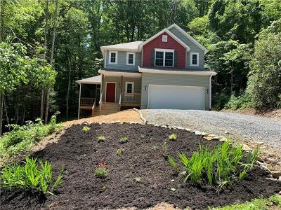 Buncombe County Single Family Home For Sale: 18 Fairview Pointe Drive