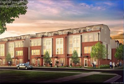 Charlotte Condo/Townhouse For Sale: 224 Parkwood Avenue #1003D