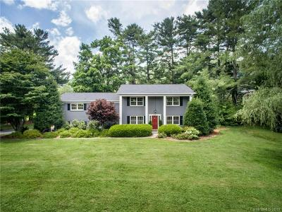 Asheville Single Family Home For Sale: 928 New Haw Creek Road
