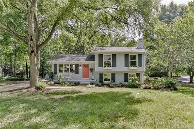 Charlotte Single Family Home For Sale: 6615 Pleasant Drive