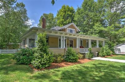 Hendersonville Single Family Home For Sale: 924 5th Avenue W