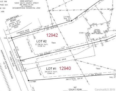 Huntersville Residential Lots & Land For Auction: 12940 Church Street S