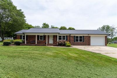 Iron Station Single Family Home For Sale: 3332 Iredell Heights Road