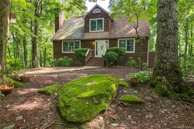 Bat Cave, Chimney Rock, Lake Lure, Gerton, Black Mountain, Mill Spring, Rutherfordton, Columbus, Tryon, Saluda, Union Mills, Hendersonville Single Family Home For Sale: 1356 Davis Mountain Road