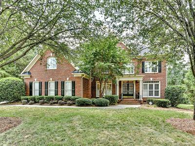 Weddington Chase Single Family Home For Sale: 7901 Rockland Trail