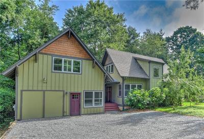 Asheville Single Family Home For Sale: 355 Cummins Road