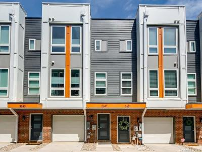 Charlotte Condo/Townhouse Under Contract-Show: 3647 Vallette Court