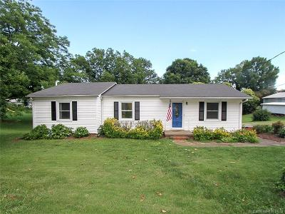 Mooresville Single Family Home Under Contract-Show: 1636 Landis Highway