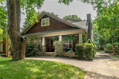 Myers Park Single Family Home For Sale: 2907 Park Road