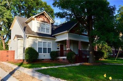Charlotte Single Family Home For Sale: 3118 Clemson Avenue