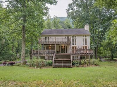 Chimney Rock, Lake Lure, Mill Spring, Bat Cave, Hendersonville, Saluda, Gerton, Black Mountain, Columbus, Tryon, Rutherfordton Single Family Home For Sale: 3419 Green River Cove Road