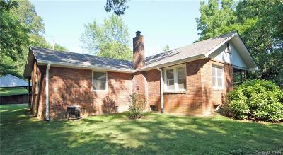 Candler Single Family Home For Sale: 475 Luther Road