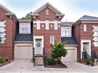 Charlotte Condo/Townhouse For Sale: 3408 West Slope Lane