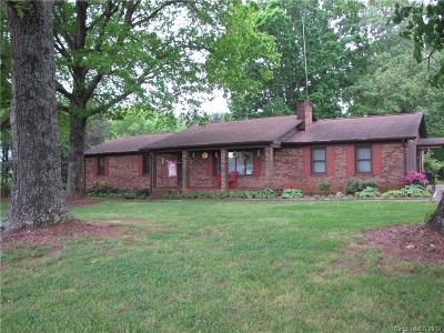 Cleveland County Single Family Home For Sale: 3303 Fallston-Waco Road